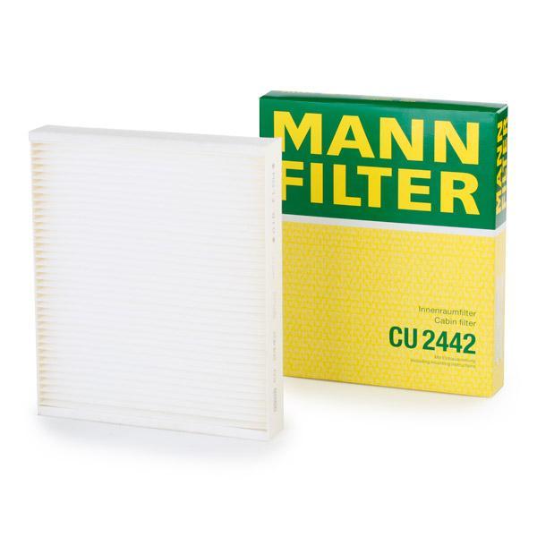 Филтър въздух за вътрешно пространство CU 2442 MANN-FILTER — само нови детайли