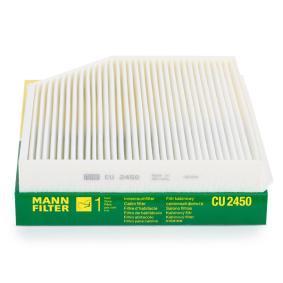 Günstige Filter, Innenraumluft mit Artikelnummer: CU 2450 AUDI A5 jetzt bestellen