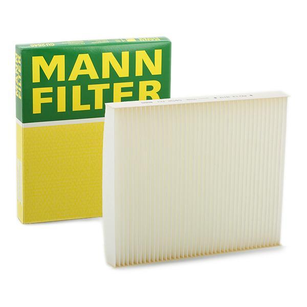 CU 2545 MANN-FILTER Filtru de particule Latime: 216mm, Înaltime: 32mm, Lungime: 252mm Filtru, aer habitaclu CU 2545 cumpără costuri reduse