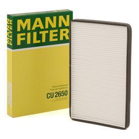 S70 850 V70 OEM MANN-FILTER CU 2650 Cabin Air Filter VOLVO C70 S90 V90