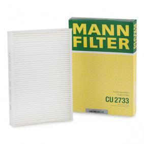 Filter, kupéventilation CU 2733 VOLVO XC70 till rabatterat pris — köp nu!