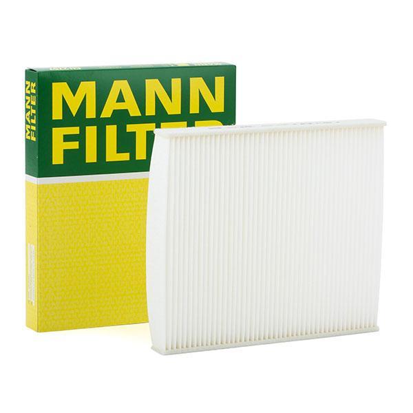 MANN-FILTER: Original Filteranlage CU 2757 (Breite: 234mm, Höhe: 30mm, Länge: 267mm)