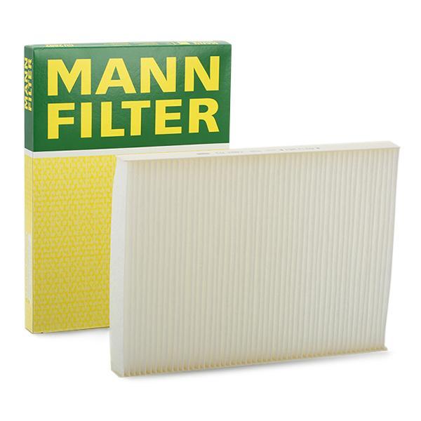 CU 2882 MANN-FILTER Partikelfilter Breite: 206mm, Höhe: 25mm, Länge: 280mm Filter, Innenraumluft CU 2882 günstig kaufen