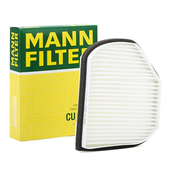 Филтър въздух за вътрешно пространство CU 2897 MANN-FILTER — само нови детайли