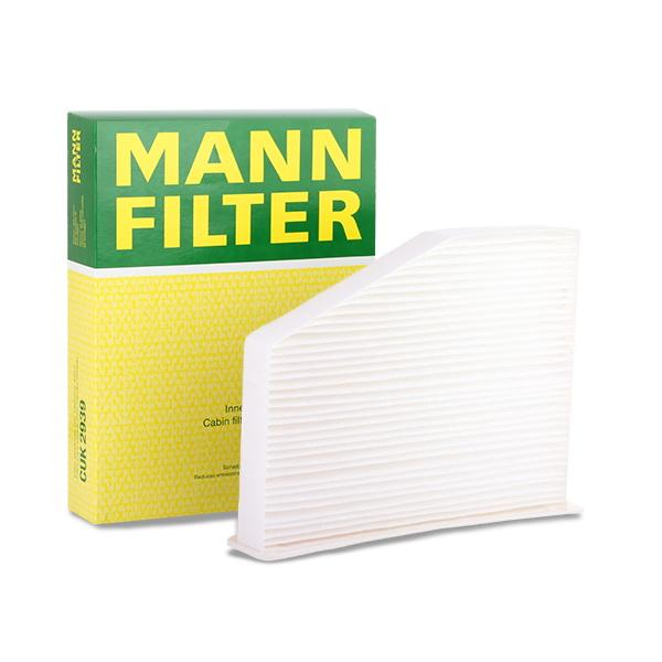 Köp MANN-FILTER CU 2939 - Värme / ventilation till Volkswagen: Partikelfilter B: 215mm, H: 34mm, L: 288mm