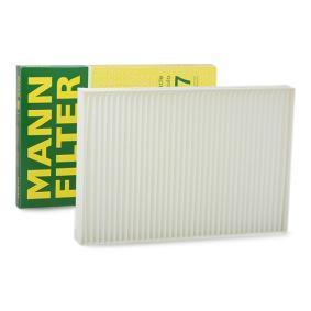 Filter, salongiõhk CU 3037 eest AUDI ALLROAD soodustusega - oske nüüd!