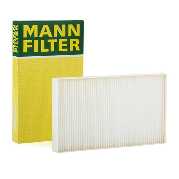 Купете CU 3540 MANN-FILTER филтър за груби частици ширина: 206мм, височина: 33мм, дължина: 347мм Филтър, въздух за вътрешно пространство CU 3540 евтино