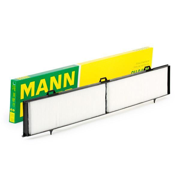MANN-FILTER: Original Innenraumluftfilter CU 8430 (Breite: 123mm, Höhe: 20mm, Länge: 810mm)