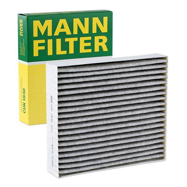 MANN-FILTER: Original Pollenfilter CUK 1830 (Breite: 178mm, Höhe: 40mm, Länge: 203mm)