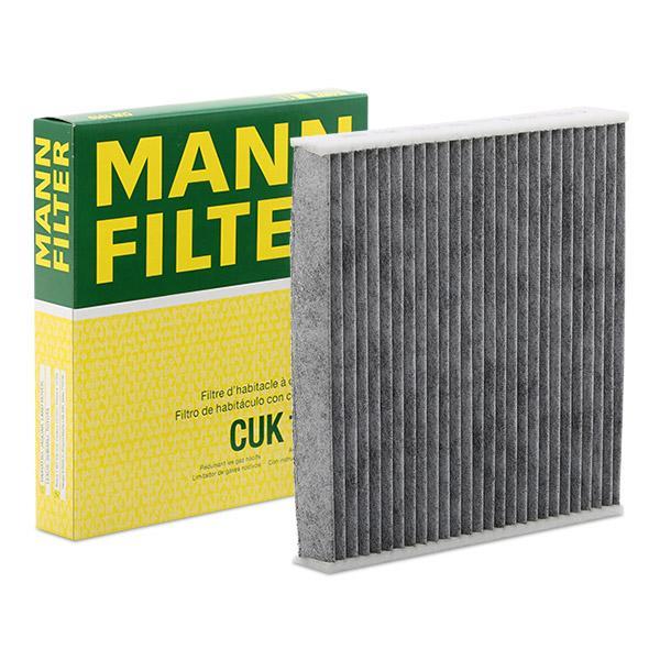 MANN-FILTER: Original Kabinenluftfilter CUK 1919 (Breite: 215mm, Höhe: 30mm, Länge: 194mm)