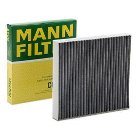 Pirkti CUK 2141 MANN-FILTER aktyvios anglies filtras plotis: 200mm, aukštis: 30mm, ilgis: 216mm Filtras, salono oras CUK 2141 nebrangu