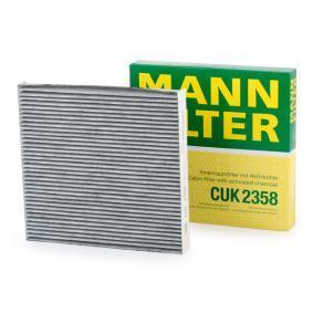 Filter, Innenraumluft MANN-FILTER CUK 2358 günstige Verschleißteile kaufen