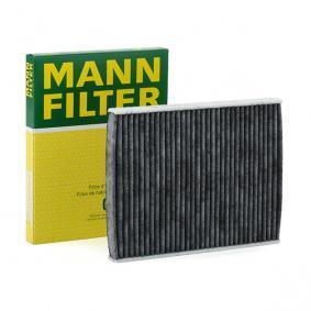 F/ür PKW Original MANN-FILTER Innenraumfilter CUK 2440 Pollenfilter mit Aktivkohle