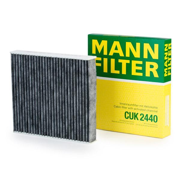 Köp MANN-FILTER CUK 2440 - Ac system till Volvo: aktivtkolfilter B: 210mm, H: 35mm, L: 235mm