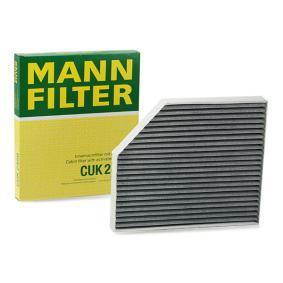 Filter, salongiõhk CUK 2450 eest AUDI A5 soodustusega - oske nüüd!