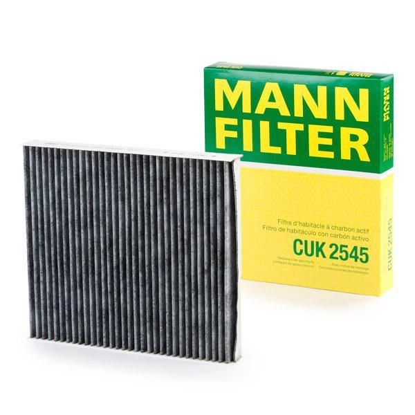 CUK2545 Innenraumfilter MANN-FILTER CUK 2545 - Große Auswahl - stark reduziert
