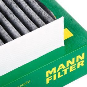 CUK2545 Filter, Innenraumluft MANN-FILTER CUK 2545 - Große Auswahl - stark reduziert