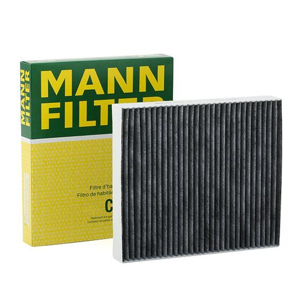 FORD MONDEO 2017 Kabinenluftfilter - Original MANN-FILTER CUK 2559 Breite: 209mm, Höhe: 35mm, Länge: 240mm
