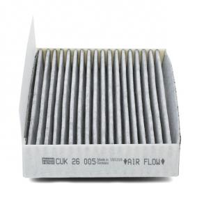 CUK26005 Filter, Innenraumluft MANN-FILTER Erfahrung