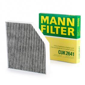 CUK2641 Innenraumfilter MANN-FILTER CUK 2641 - Große Auswahl - stark reduziert