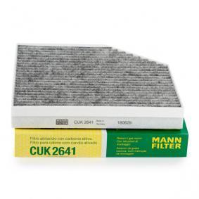 CUK 2641 Pollenfilter MANN-FILTER - Markenprodukte billig
