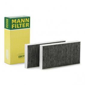 CUK 2723-2 MANN-FILTER Aktivkohlefilter Breite: 133mm, Höhe: 30mm, Länge: 266mm Filter, Innenraumluft CUK 2723-2 günstig kaufen