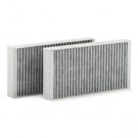 CUK 2723-2 Filter, Innenraumluft MANN-FILTER - Markenprodukte billig