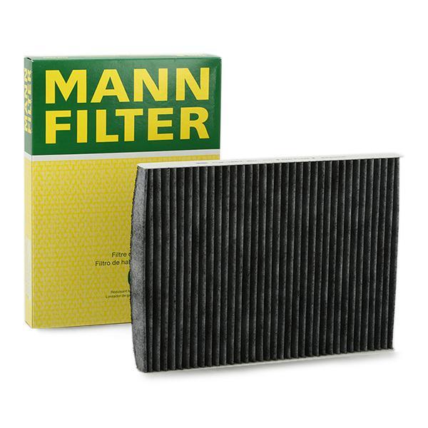 CUK 2862 MANN-FILTER Aktivkohlefilter Breite: 206mm, Höhe: 30mm, Länge: 280mm Filter, Innenraumluft CUK 2862 günstig kaufen