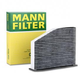 CUK 2939 MANN-FILTER Aktivkohlefilter Breite: 215mm, Höhe: 34mm, Länge: 288mm Filter, Innenraumluft CUK 2939 günstig kaufen