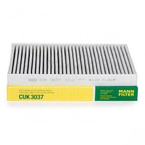 Filter, salongiõhk CUK 3037 eest AUDI A6 Avant (4B5, C5) — saage pakkumine nüüd!