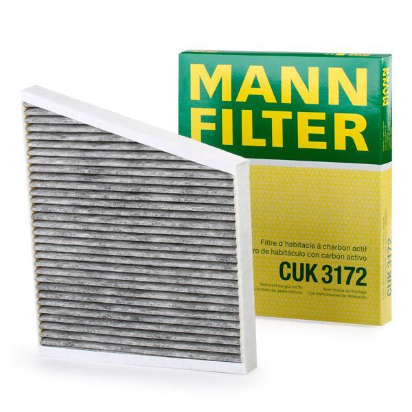 Filter, Innenraumluft MANN-FILTER CUK 3172 Bewertungen