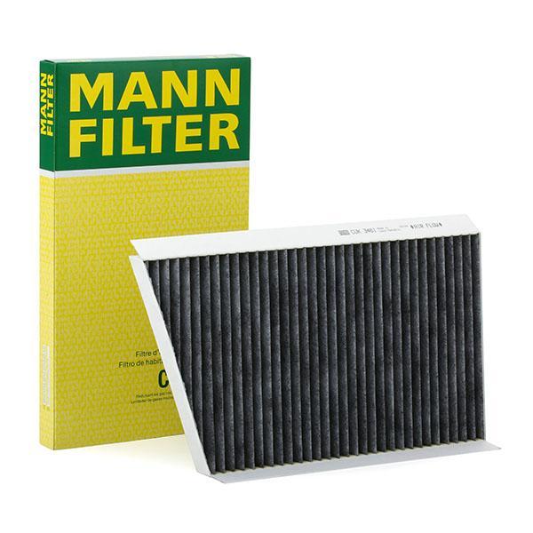 MANN-FILTER: Original Fahrzeugklimatisierung CUK 3461 (Breite: 189mm, Höhe: 26mm, Länge: 332mm)