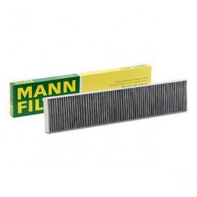 filtras, salono oras CUK 5480 su puikiu MANN-FILTER kainos/kokybės santykiu