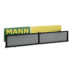 CUK 8430 MANN-FILTER aktivtkolfilter B: 123mm, H: 20mm, L: 810mm Filter, kupéventilation CUK 8430 köp lågt pris