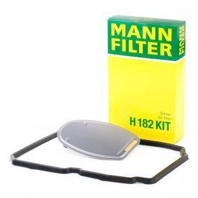 H 182 KIT MANN-FILTER con junta de cárter de aceite Kit filtro hidrtáulico, caja automática H 182 KIT a buen precio