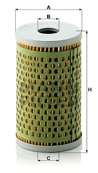 Originali Filtro idraulico sterzo H 601 NSU