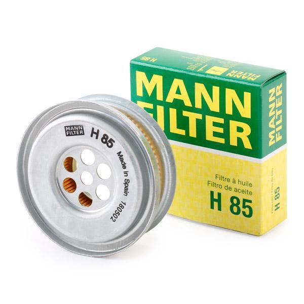 H85 Hydraulikfilter, Lenkung MANN-FILTER H 85 - Große Auswahl - stark reduziert