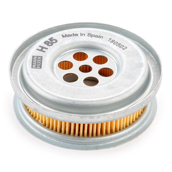 H 85 Filtro hidráulico, dirección MANN-FILTER - Productos de marca económicos