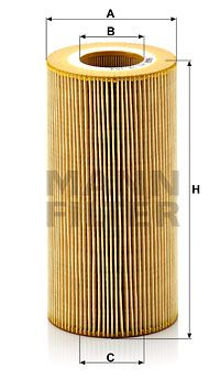 HU 12 103 x MANN-FILTER Filtr oleju do DAF XF 105 - kup teraz