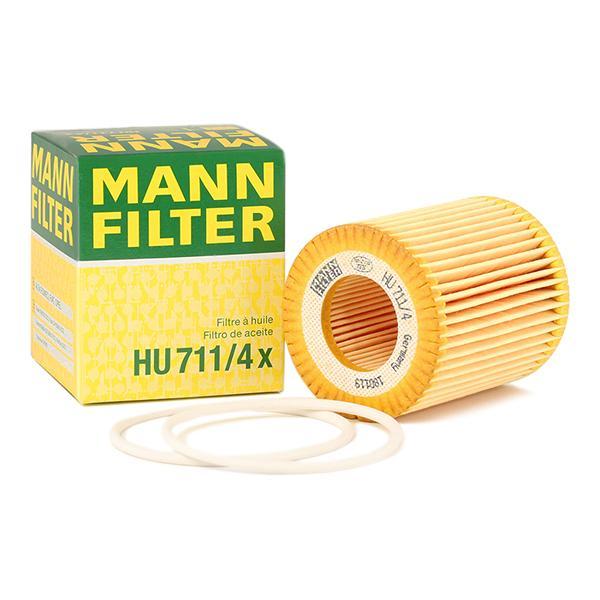 MANN-FILTER | Alyvos filtras HU 711/4 x