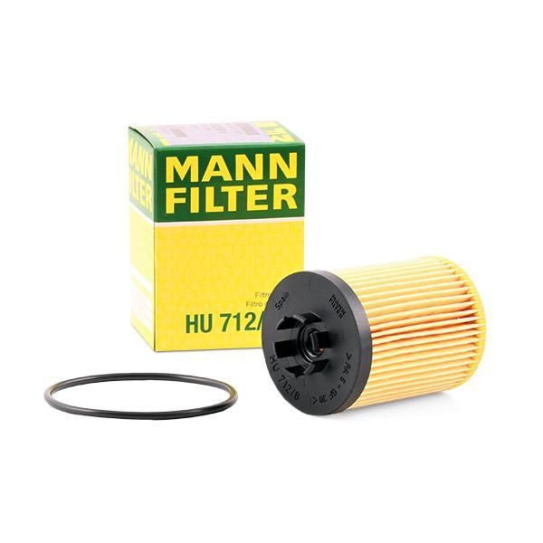 MANN-FILTER | Ölfilter HU 712/8 x