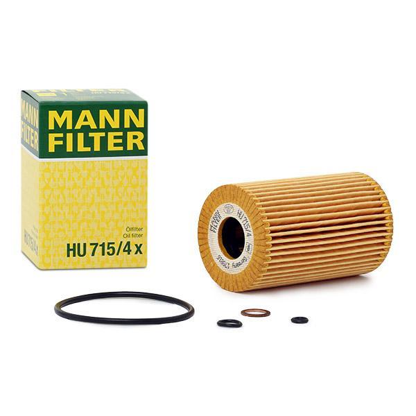 HU 715/4 x Filtro olio MANN-FILTER prodotti di marca a buon mercato