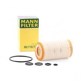 MANN-FILTER s tesnenim Vnitrni prumer: 31mm, R: 64mm, vyska: 115mm Olejový filtr HU 718/5 x kupte si levně