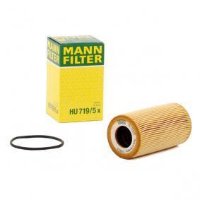 Olejový filtr HU 719/5 x pro PORSCHE CARRERA GT ve slevě – kupujte ihned!