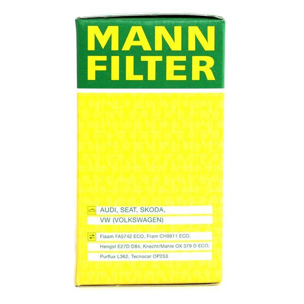HU 719/6 x Ölfilter MANN-FILTER Test