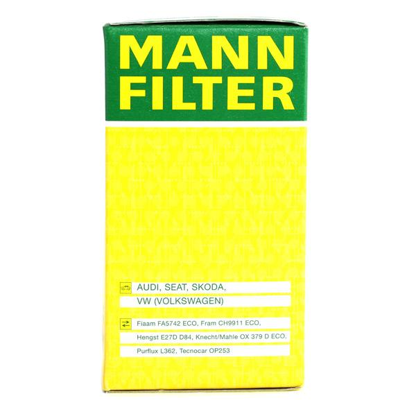 HU 719/6 x Motorölfilter MANN-FILTER in Original Qualität