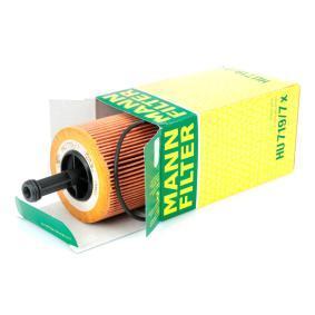 HU719/7x Alyvos filtras MANN-FILTER - Sumažintų kainų patirtis