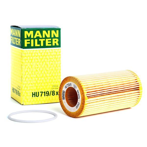 MANN-FILTER | Alyvos filtras HU 719/8 x