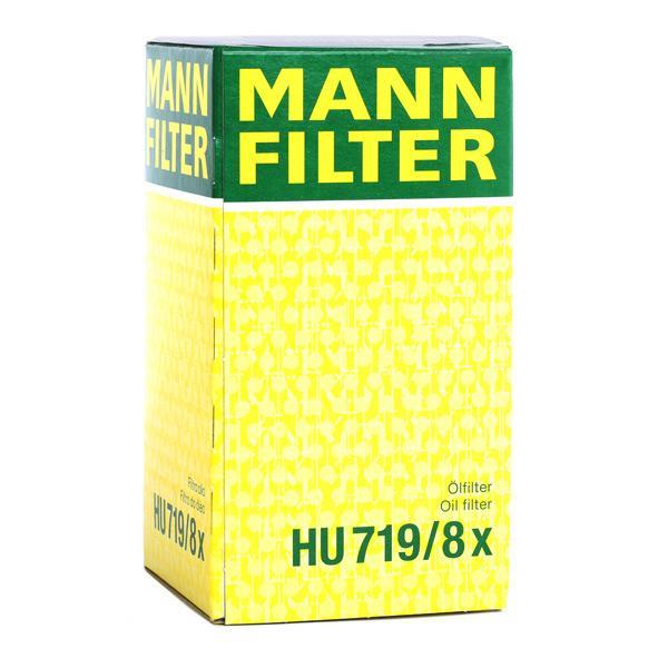 HU719/8x Alyvos filtras MANN-FILTER - Sumažintų kainų patirtis