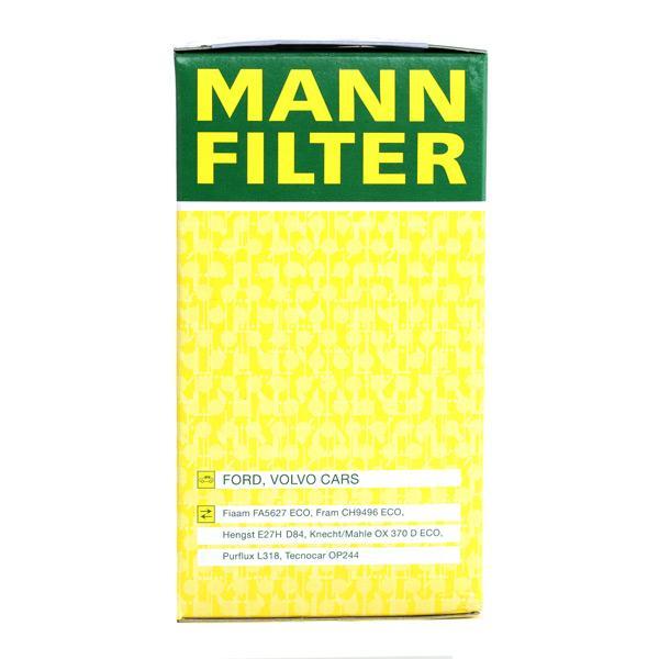 HU 719/8 x Alyvos filtras MANN-FILTER originalios kokybiškos